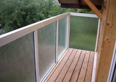 Balkonų atitvarų įrengimas
