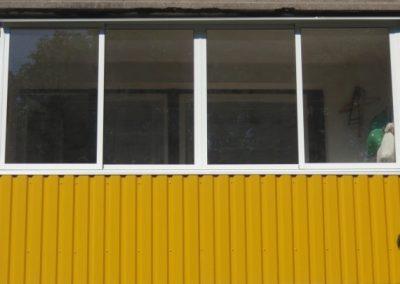 Balkonų stiklinimas ir skardinimas