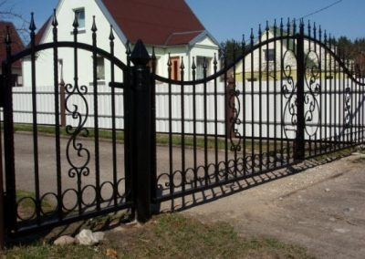 Metalo gaminiai - tvoros, vartai, durys, turėklai