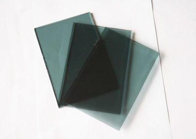 Skaidraus, spalvoto, dekoratyvinio, selektyvinio stiklo ruošiniai