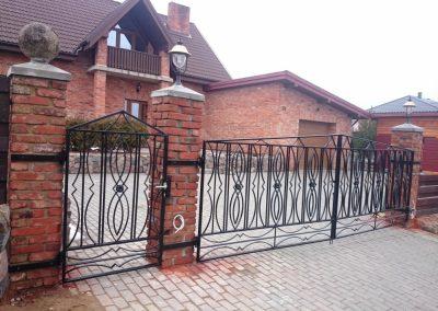 Metalo gaminiai - tvoros, vartai, durys