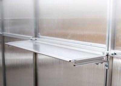 Aliuminiai šiltnamiai su polikarbonato danga