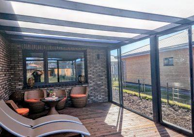 Aliuminio sistemos terasoms